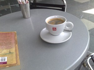 Illy Cafe long black